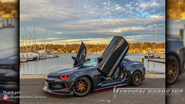 Installer   NewGen Customs  Holbrook, NY   Slide Show of cars done with Vertical Lambo Doors Conversion Kit for Vertical Doors, Inc.