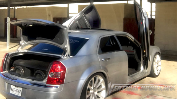 Check out Herb's Chrysler 300 from Texas featuring Vertical Lambo Doors Conversion Kit from Vertical Doors, Inc.