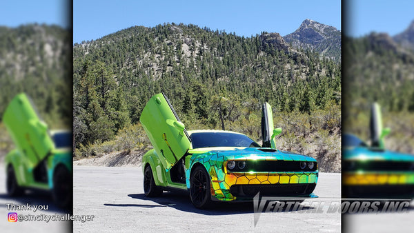 "Check out some great looking cars from ""Sincity"" Las Vegas, Nevada featuring Vertical Lambo Doors Conversion Kit from Vertical Doors, Inc."