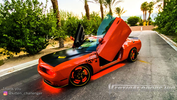 "Check out ""Stuck Up Lowlife"" members featuring Vertical Doors, Inc., vertical lambo doors conversion kit."