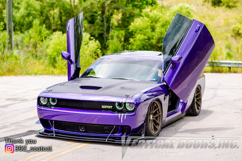 Richard's Dodge Challenger with Vertical Lambo Door Conversion Kit