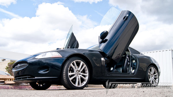 Jaguar XK-TYPE 2007-2014 Lambo Door Conversion Kit by Vertical Doors Inc.