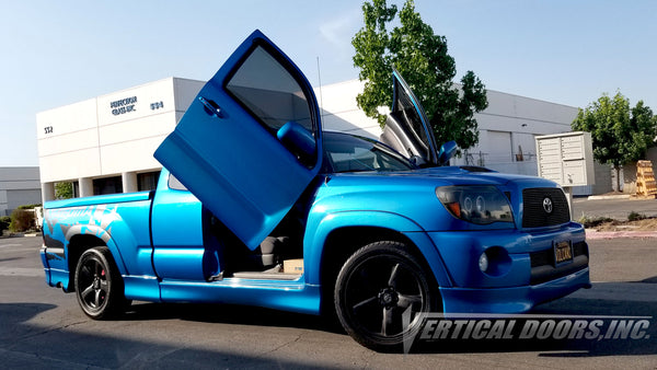 Toyota Tacoma Truck 2005-2015 Lambo Door Conversion Kit by Vertical Doors Inc. Part Number: VDCTOYTAC2013&UP
