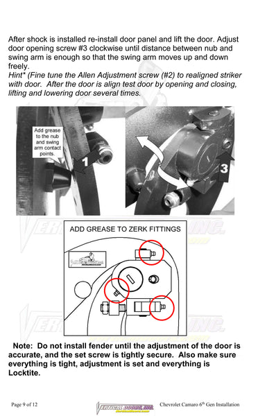 How to install USA made Vertical Lambo Doors by Vertical Doors, Inc.
