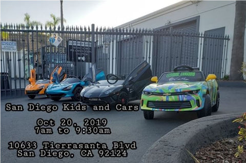 San Diego Kids and Cars car club