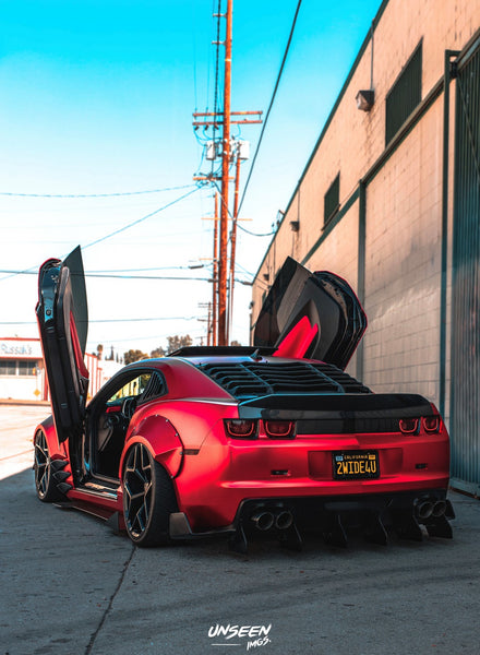 Check out @camaro_b0y Chevy Camaro from California featuring Vertical Lambo Doors Conversion Kit by Vertical Doors, Inc.