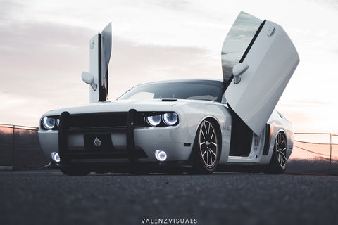 Dodge Challenger 2009-2016 Lambo Door Conversion Kit by Vertical Doors Inc.