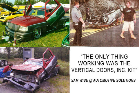 vertical doors real world crash test