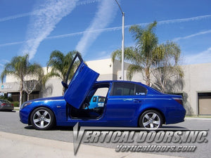 BMW 5 Series 2003-2010 4DR Lambo Door Conversion Kit by Vertical Doors Inc.