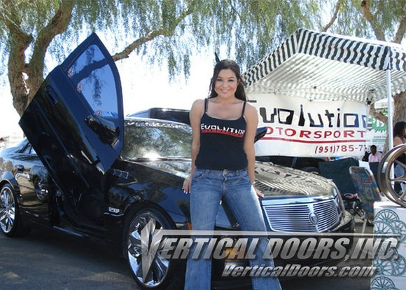 Cadillac CTS 2002-2007 4DR Vertical Lambo Doors Conversion Kit