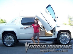 Cadillac Ext 2007-2013 Vertical Lambo Doors Conversion Kit
