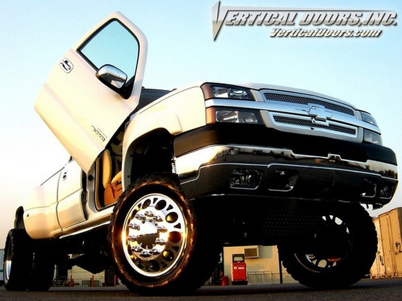 Chevrolet Full Size Truck 1999-2006 Vertical Lambo Doors Conversion Kit