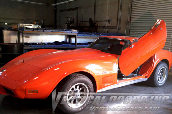 Chevrolet Corvette C-3 1968-1982 Vertical Lambo Doors Conversion Kit