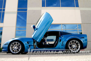 Chevrolet Corvette C-6 2005-2013 Vertical Lambo Doors Conversion Kit
