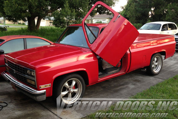 Chevrolet Dually 1973-1987 Vertical Lambo Doors Conversion Kit