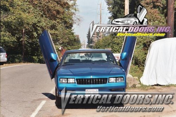 Chevrolet Monte Carlo 1979-1988 Vertical Lambo Doors Conversion Kit