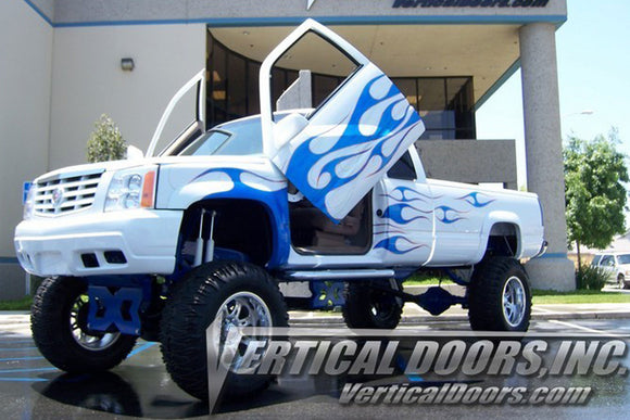 Chevrolet Silverado 1988-1998 Vertical Lambo Doors Conversion Kit