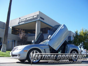 Chrysler Crossfire 2004-2008 Vertical Lambo Doors Conversion Kit
