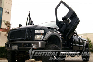 Ford F250/F350/F450/F550 Superduty 1999-2016 Vertical Lambo Doors Conversion Kit