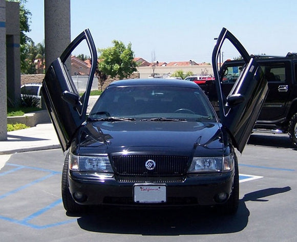 Ford Crown Victoria 1998-2010 Vertical Lambo Doors Conversion Kit