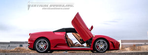 Ferrari F430 2004-2009 Vertical Lambo Doors Conversion Kit