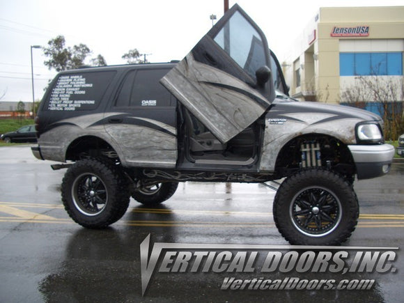Ford Expedition 1997-2002 Vertical Lambo Doors Conversion Kit