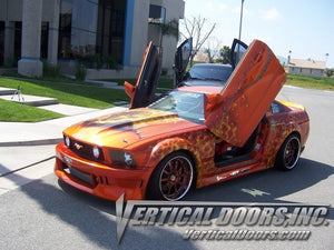 Ford Mustang 2005-2010 Vertical Lambo Doors Conversion Kit
