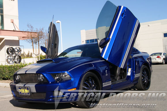 Ford Mustang 2011-2014 Vertical Lambo Doors Conversion Kit