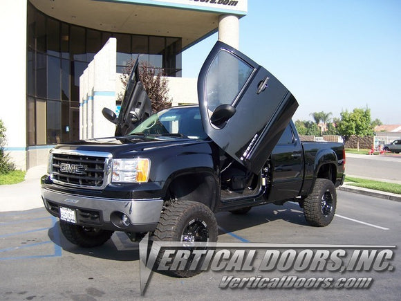 GMC Sierra 2007-2014 Vertical Lambo Doors Conversion Kit