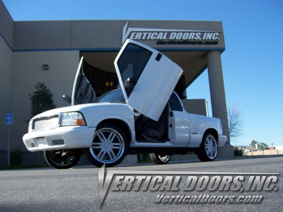 GMC Sonoma 1994-2004 Vertical Lambo Doors Conversion Kit