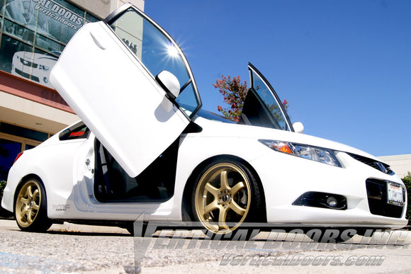 Honda Civic 2011-2015 2DR Vertical Lambo Doors Conversion Kit