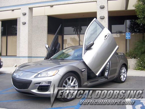 Mazda RX8 2004-2008 Vertical Lambo Doors Conversion Kit