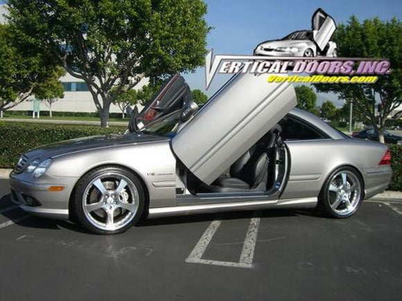 Mercedes CL 2000-2006 Vertical Lambo Doors Conversion Kit