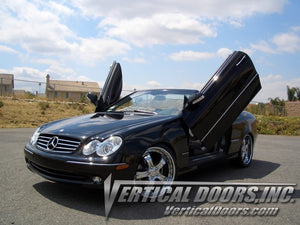 Mercedes CLK 2003-2009 Vertical Lambo Doors Conversion Kit