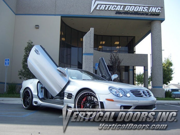 Mercedes SL 2003-2010 Vertical Lambo Doors Conversion Kit