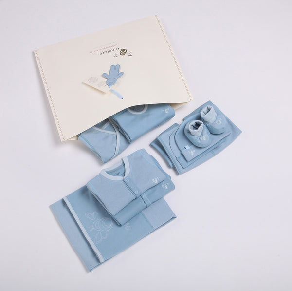 Reversible Fabric Newborn Baby Clothing Startup Kit 12 pc pack - Girls
