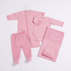 Reversible Fabric Full B Gift Set- 5 pc - Girls