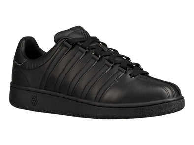 K SWISS Classic VN Men's Leather Tennis Shoes in Black/Black
