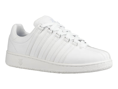 K SWISS Classic VN Men's Leather Tennis Shoes in White/White