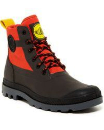 Palladium Windbreaker H Men's Orange Ankle Boots