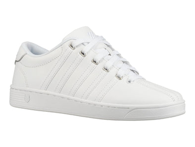 K-Swiss Court Pro II CMF Women's Low Top White/Silver Tennis Shoes