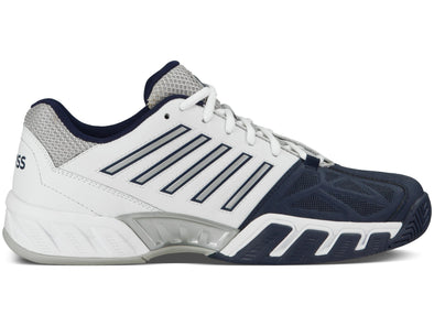 K SWISS Bigshot Light 3 Men's Performance Athletic Sneakers in White/Navy