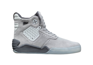 Supra Skytop IV Grey/Charcoal-Translucent Men's Athletic Skate Boarding Sneakers