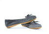 Minnetonka Women's Dark Grey Leather Fur Lined Moccasins #69601