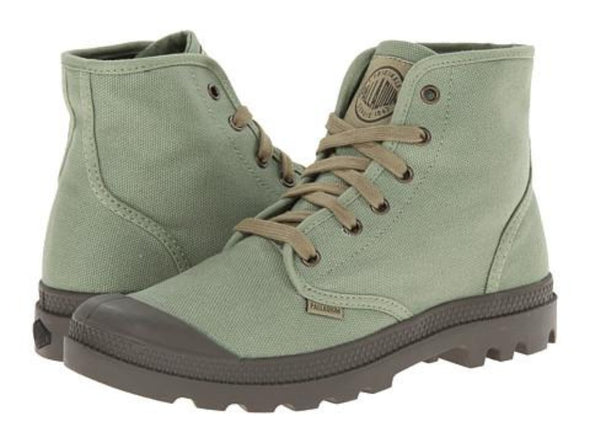 PALLADIUM Pampa Hi Men's Otan/Army Green Lace Up Ankle Hiking Boots