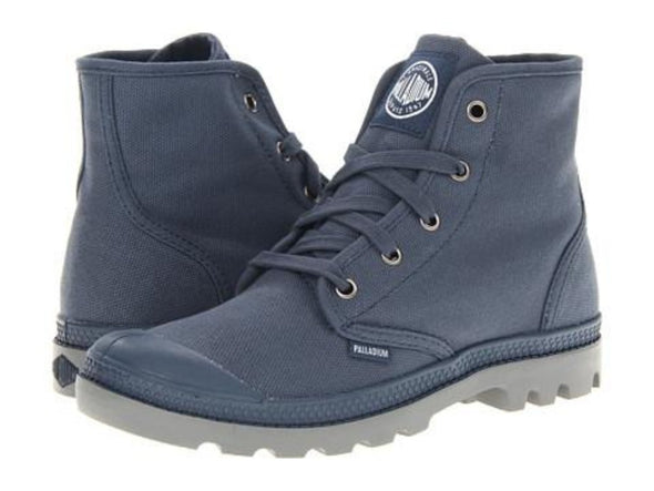 PALLADIUM Pampa Hi Indigo/Metal Men's Lace Up Ankle Chukka Boots