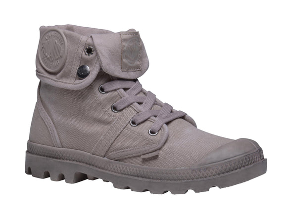 PALLADIUM Pallabrouse Baggy Stucco/Cobblestone Women's Fold Down Combat Hiking Boots