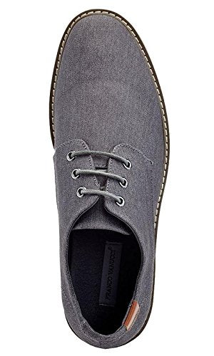 Franco Vanucci Mens Textured Casual Oxford Dress Shoes