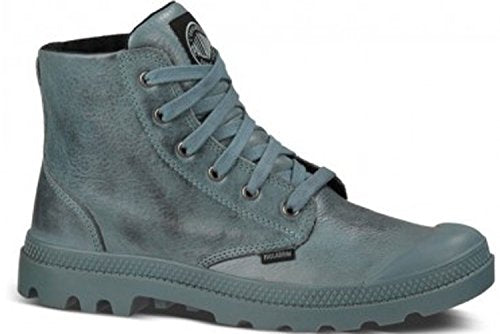 Palladium Pampa Hi Leather Men's Nordic Blue/Black Ankle Chukka Combat Hiking Boots