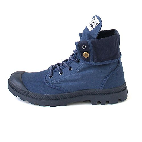 Palladium Baggy Army Training Camp Indigo/Total Eclipse Unisex Fold Down Canvas Hiking Combat Boots